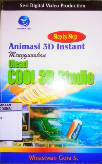 Image of STEP BY STEP ANIMASI 3D INSTANT MENGGUNAKAN ULEAD COOL 3D STUDIO